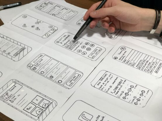 Mobile application project planning